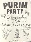 Poster of the Jewish Students Association Event 4