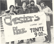 Students Advertising for Chester's Place