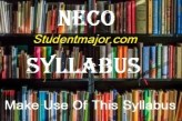 Download free NECO Biology Syllabus for 2020/2021 and the recommended textbooks in PDF With area of concentration and topics to read