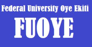 image showing the Federal University Oye Ekiti, FUOYE JAMB and Departmental Cut off mark