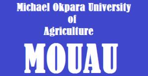 2021 MOUAU Departmental JAMB Cut-off mark for Michael Okpara University of Agriculture
