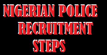 Nigerian Police Recruitment application portal website