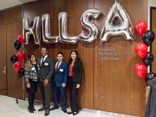 The HLLSA board who organized the 2017 Judges Night