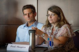 Professors Chris Schmidt and Carolyn Shaprio