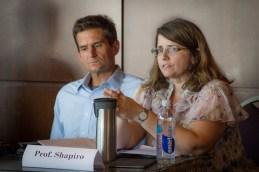 Professors Chris Schmidt and Carolyn Shaprio