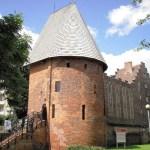 Башня ведьм в Слупске