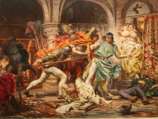 Смерть короля Пшемысла II