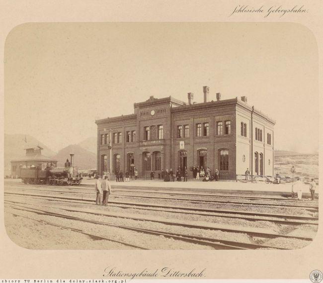 Польская железная дорога в XIX веке