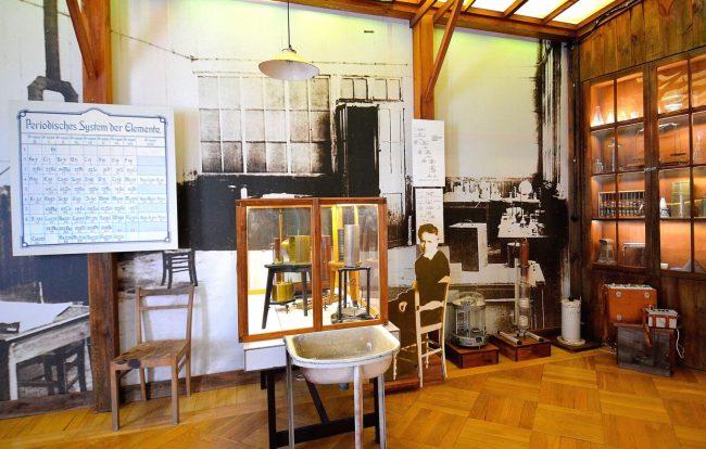 Музей Марии Склодовской-Кюри.