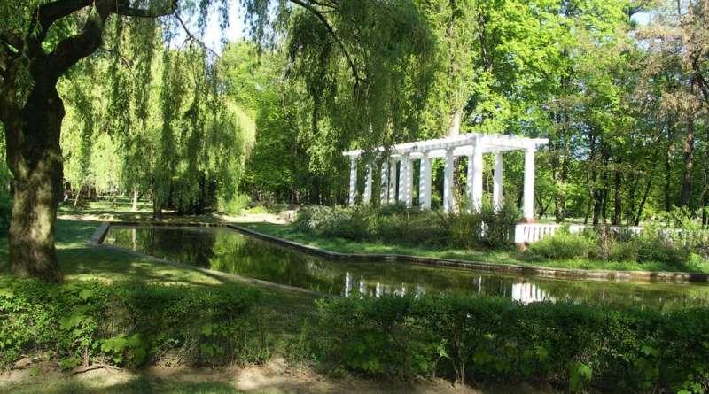 Городской парк в Легнице
