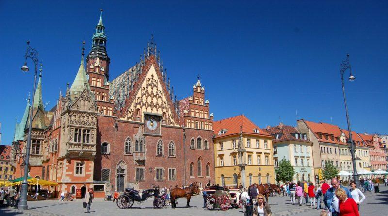 Старая ратуша Вроцлава.
