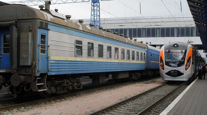 Украинская железная дорога запустила поезд Днепр-Перемышль