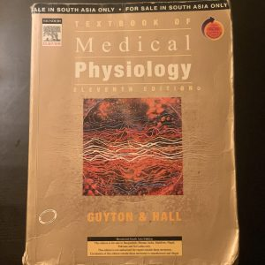 Textbook of Medical Physiology. (Guyton and Hall)