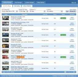 Online vehicle showroom