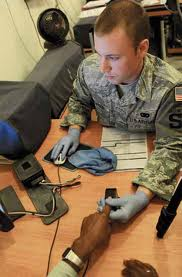 Air Force Security System Using Thumb Checker