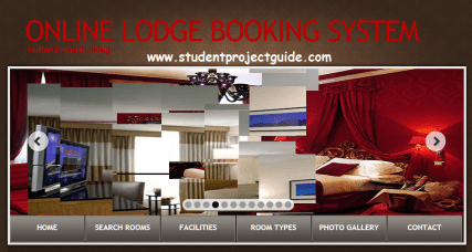 Online Lodge Booking System