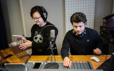 Stockholm College Radio i SvD