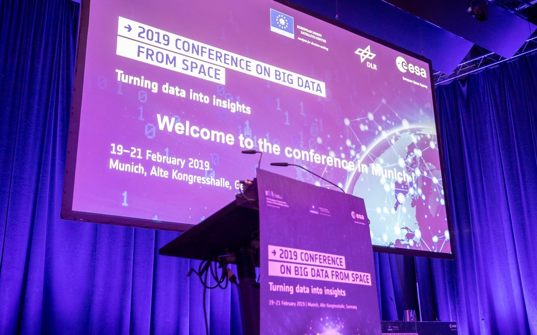 EAGLES at 'Big Data from Space' Conference