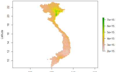 R Processing Toolbox for Sentinel-5P data