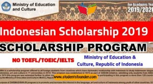 Darmasiswa Indonesian Scholarship 2019 – Ministry of Education & Culture