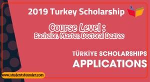 Turkey Government Scholarship 2019 For International Students