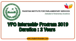 YPO PIPS Internship Program 2019 in Pakistan For 2 Years