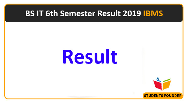 BS IT 6th Semester Result 2019 (IBMS)