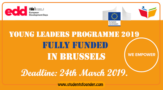 Young Leaders Programme 2019 [Fully Funded] in Brussels by European Commission