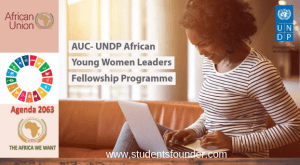 AUC- UNDP AFRICAN YOUNG WOMEN LEADERS FELLOWSHIP PROGRAMME