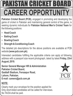 Jobs-in-Pakistan-Cricket-Board-PCB-09-Aug-2019