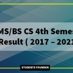 BS-CS-4th-Semester-Result