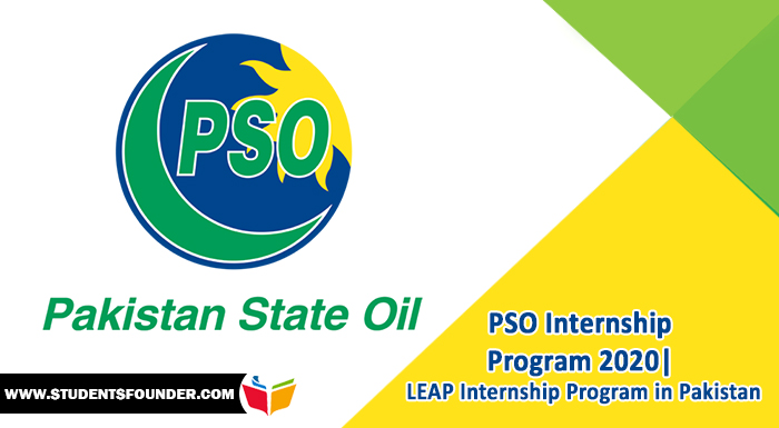 PSO Internship Program 2020  LEAP Internship Program in Pakistan