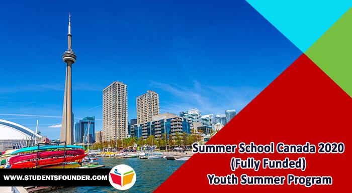 Summer School Canada 2020 (Fully Funded) Youth Summer Program