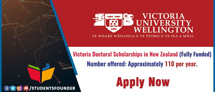New Zealand Wellington Doctoral Scholarship | Fully Funded