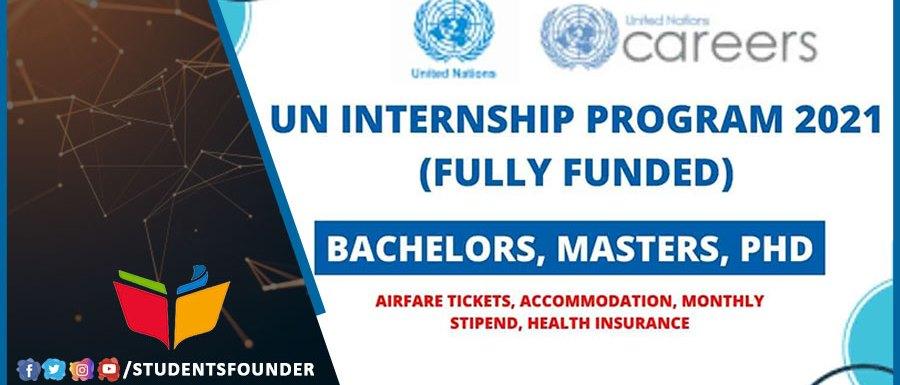 UN Internship Program 2021   Fully Funded