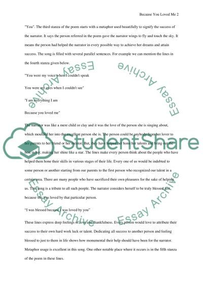 Song Analysis Research Paper Example Topics And Well Written