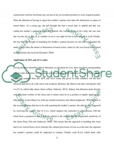 Ethical Case Study Analysis Paper Research Example Topics And Well