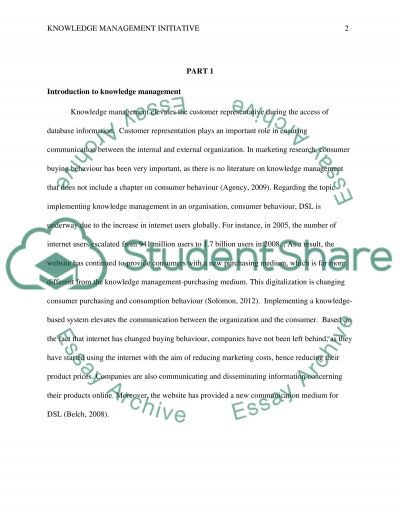 The Challenges Of Successfully Implementing A Knowledge Management Essay
