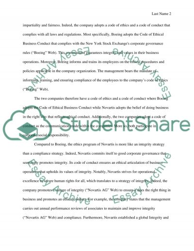 Comparing Between Two Companies Research Paper Example Topics And
