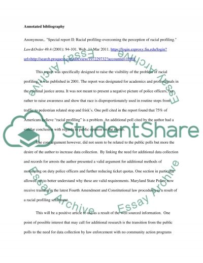 Racial Profiling Essay Racial Profiling Overcoming The Perception Of