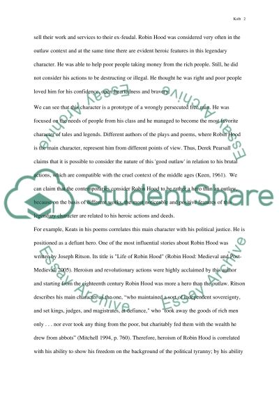 Hero Essay Robin Hood Outlaw Or Hero Research Paper Example Topics