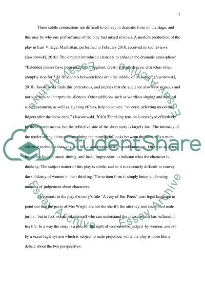 Essay On Trifles Trifles Essay Women Trifles Play Ibnngaeyrch