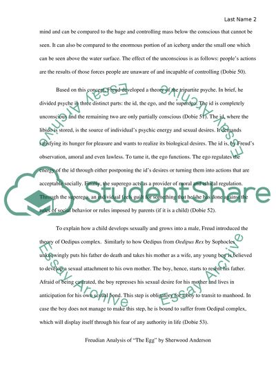 Psychological Analysis Essay Example | Topics and Well ...