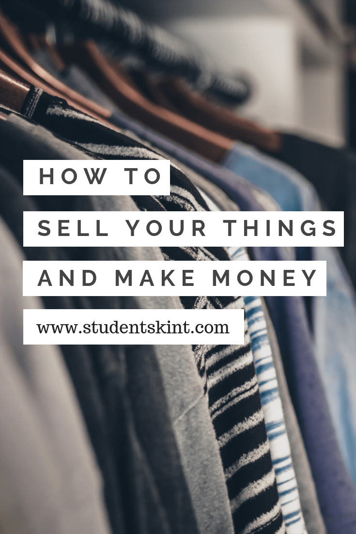 Make money from your unwanted things