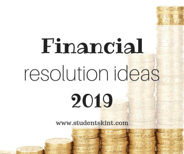 financial new year's resolutions
