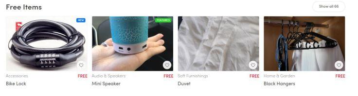 Marketplace Free Items