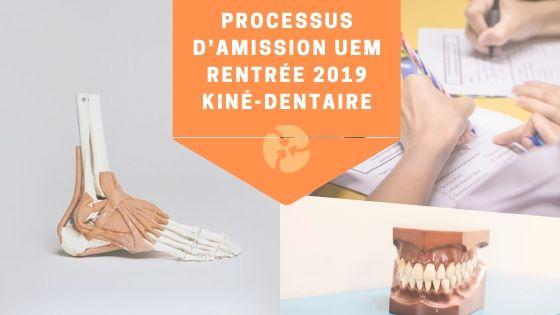 Processus UEM rentrée Kiné-dentaire