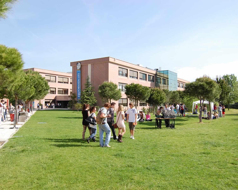Vue d'ensemble campus UFV