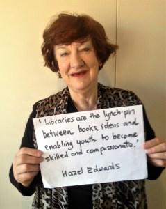 Author Hazel Edwards