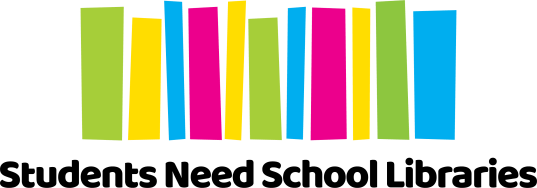Students Need School Libraries Logo